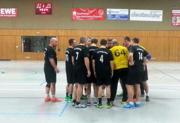 Herren2: TV Offenbach4 – TuS  23:41 (12:23)