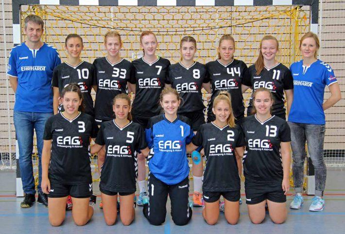 Weibliche B-Jugend gewinnt auch gegen JSG Wörth/Hagenbach