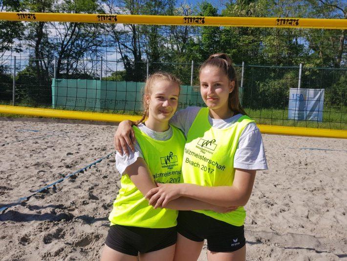 Vize-Rheinland-Pfalzmeister Beach U17 weiblich