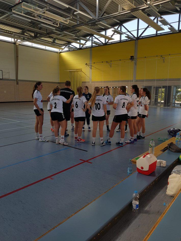 Damen: TuS Heiligenstein 2 gewinnt erstes Trainingsspiel deutlich