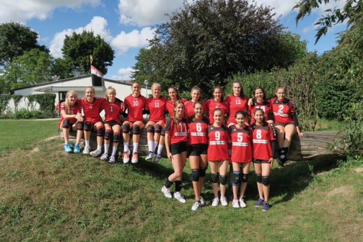1. und 3. Platz bei der U18 Pfalzmeisterschaft der weibl. Jugend