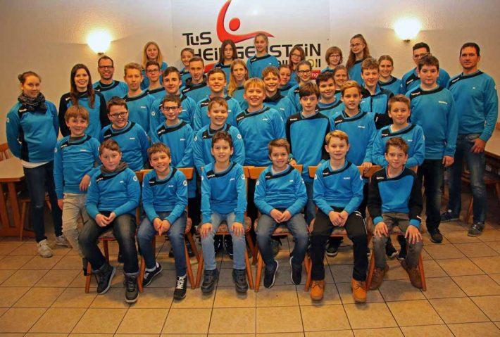 Bilder der Jugendweihnachtsfeier der Handballer vom 17.12.17