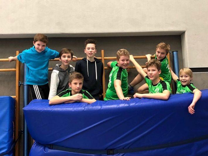 Erste Mannschaft des TuS Heiligenstein (U14 Jungs) wird ohne Satzverlust Pfalzmeister