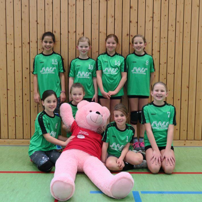 1. Spieltag U12 weiblich in Germersheim sehr erfolgreich!