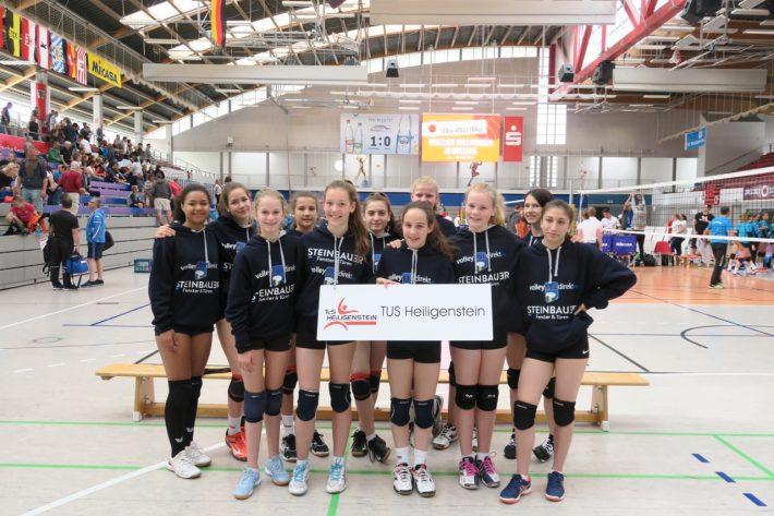 U16 Mädchen zeigen mit dem jüngstem Team Klasse bei der DM in Dresden