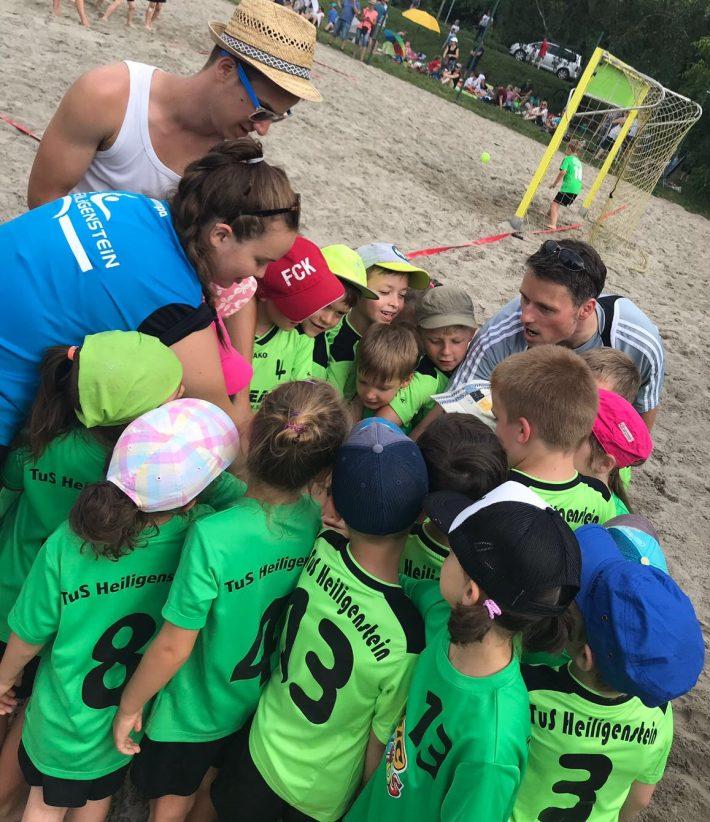 14. Beachhandball-Jugendturnier beim TuS Heiligenstein