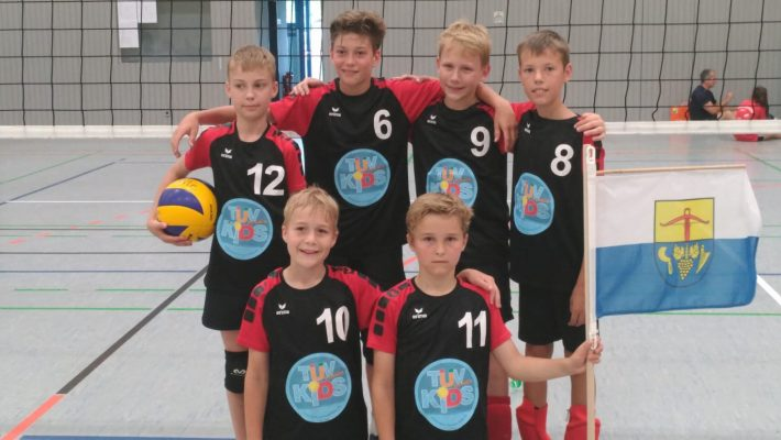 Platz 6 bei der Südwestdeutschen Meisterschaft U13 männlich