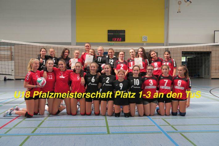 Pfalzmeistertitel für die U18 weiblich