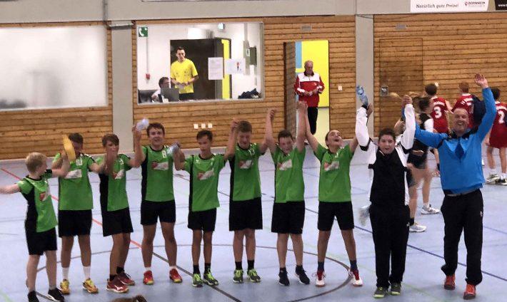 Männliche C-Jugend gewinnt in Offenbach 28:25 (12:9)