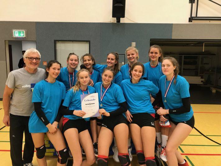 U18 – Mädchen werden ohne Satzverlust Rheinland-Pfalz-Meister