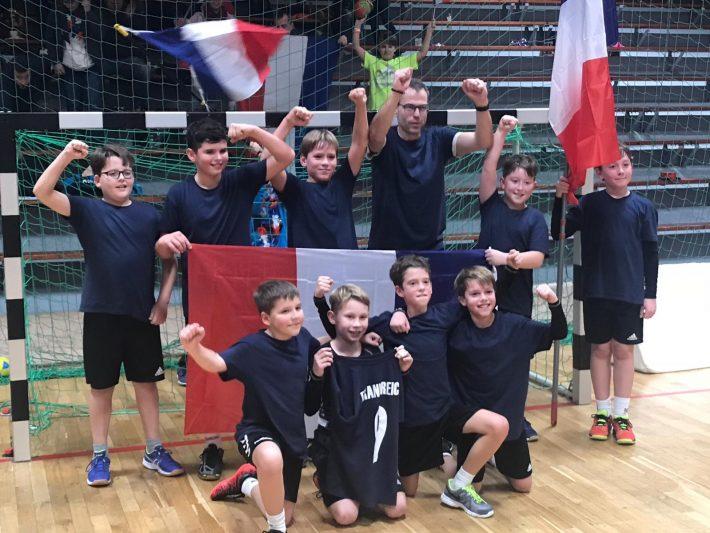 mE1 bei Mini-WM des Pfälzer Handballverbandes am Start