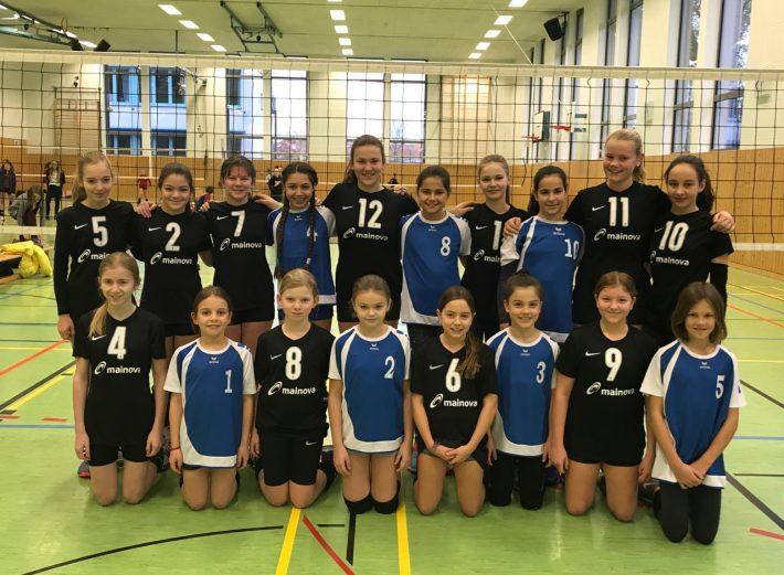 U14w rockt den 2.Spieltag in Germersheim