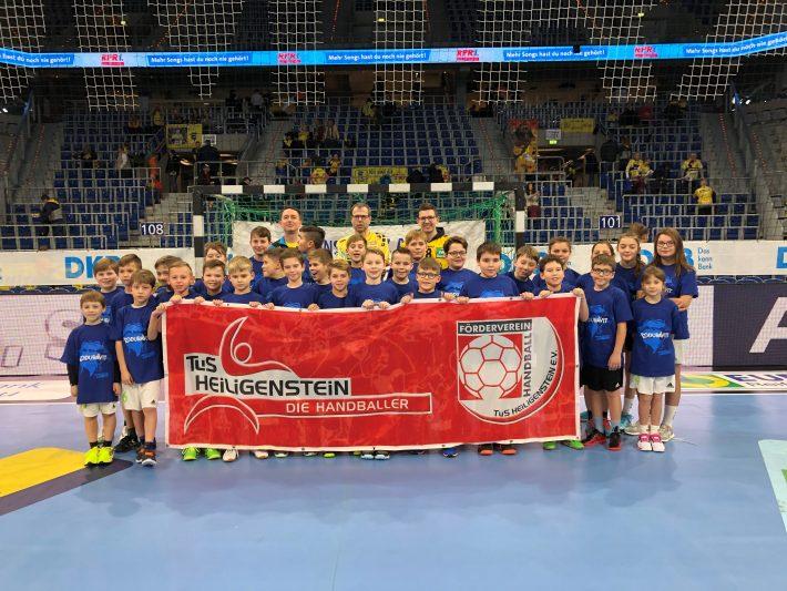 Jugendhandballer/innen in der SAP-Arena