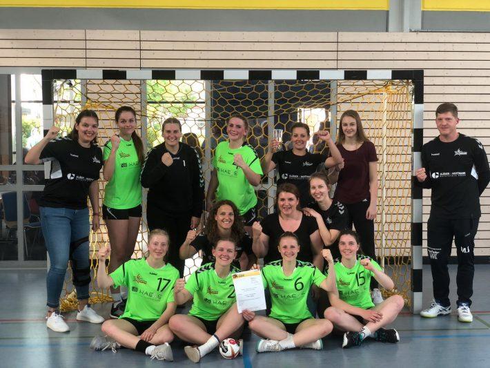Handball-Damen: Vize-Pokalsieger 2019
