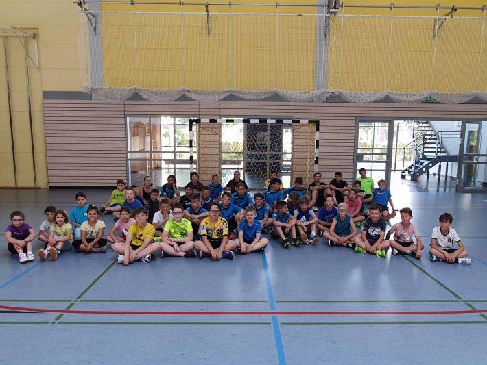 Bilder des 15. Handballcamps