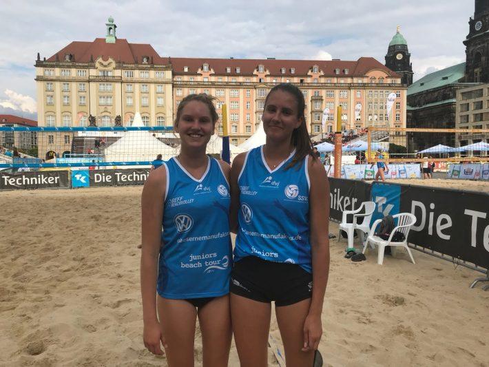 Platz 9 bei der Deutschen Beach-Meisterschaft U20