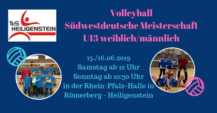 Südwestdeutsche Meisterschaft U13 in der Rhein-Pfalz-Halle