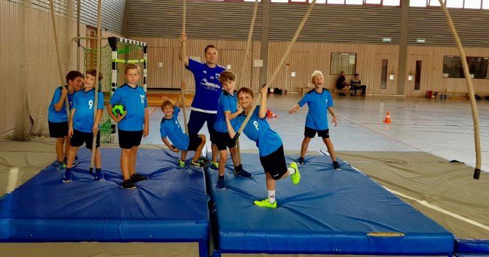 F-Jugend in Schifferstadt