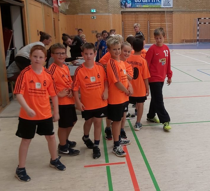 E-2 Jugend mit guter Leistung gegen den Tabellenführer