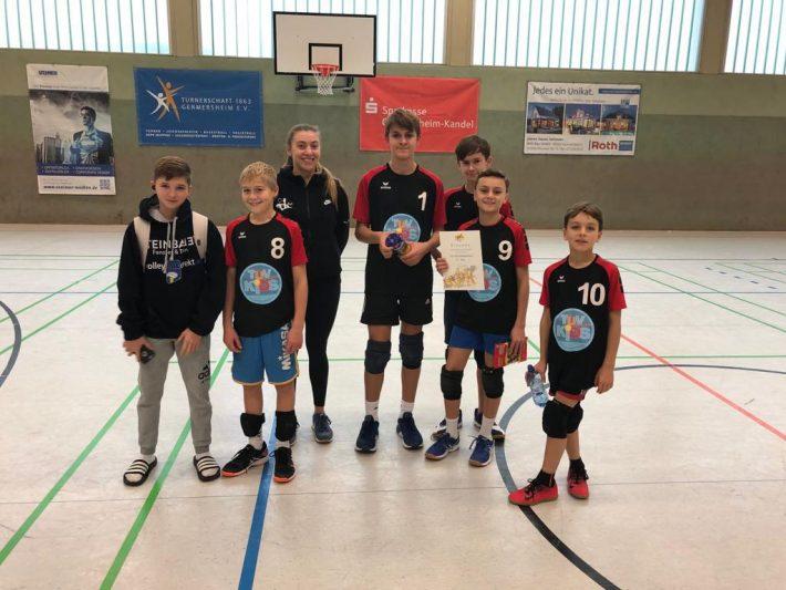 Platz 3 bei der Pfalzmeisterschaft U14 männlich!