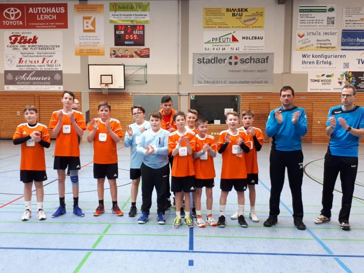 mD1: TV Offenbach – TuS  32 : 38 (18:19)
