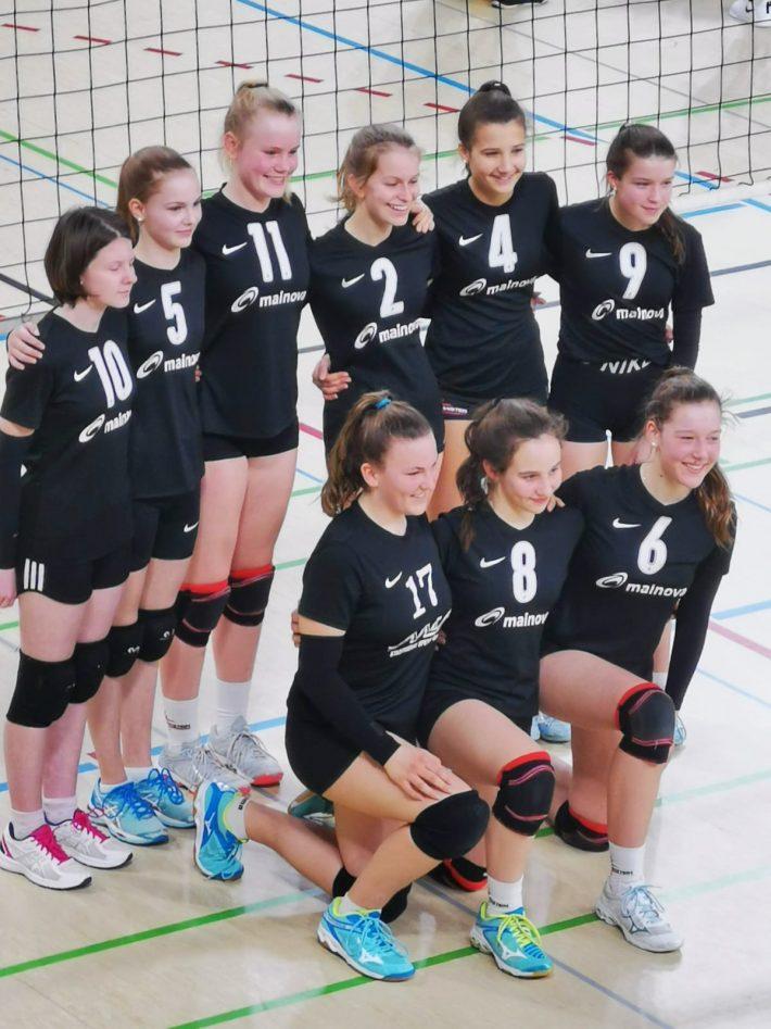 U16 Mädchen holen bei SWD den 3. Platz