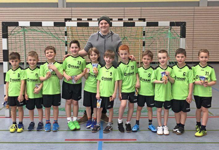 Heimspielfest der Handballminis