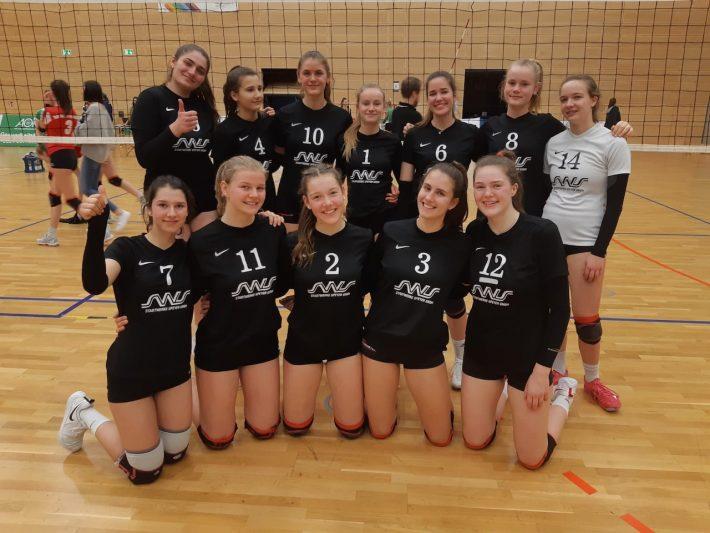 U20 Mädchen bei SWD auf Platz 5