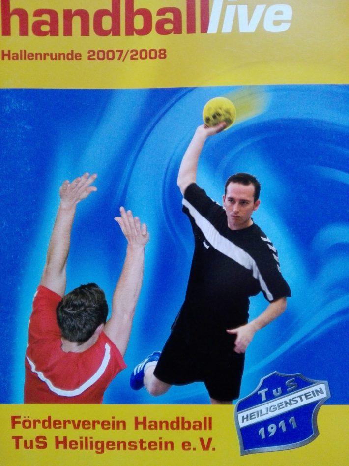 FöV TuS H Handball – Archiv4 – Saisonheft 2007