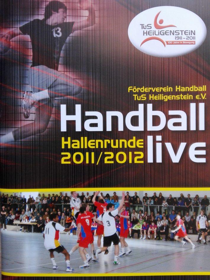 FöV TuS H Handball – Archiv8 – Saisonheft 2011