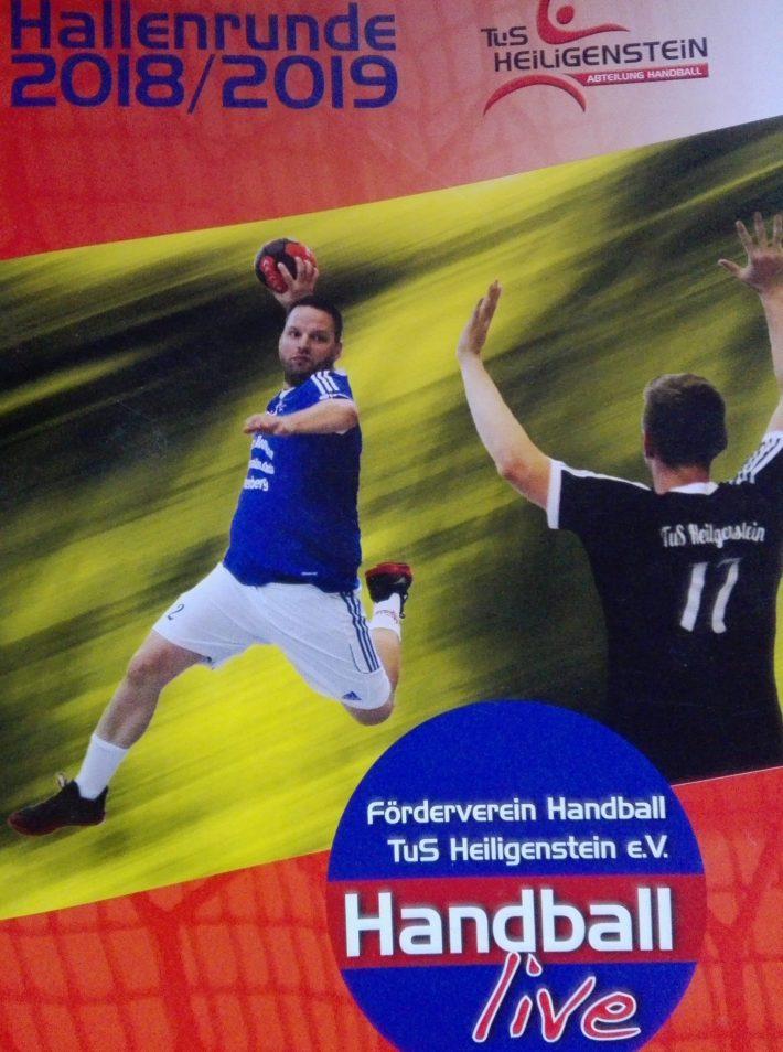 FöV TuS H Handball – Archiv15 – Saisonheft 2018