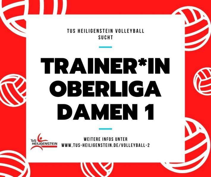 Volleyball Trainer*in gesucht!