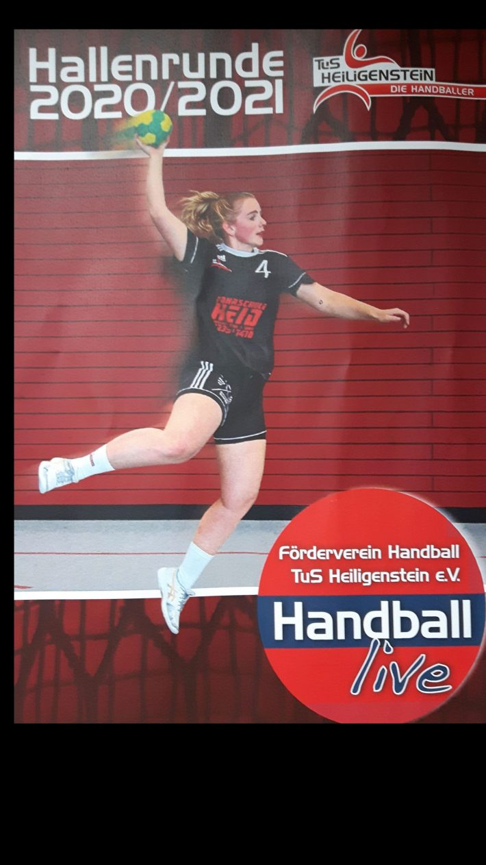 Handball-Saison ausgesetzt – Saisonheft 2020/21