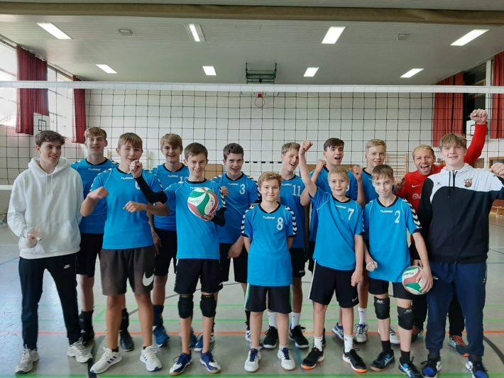 Volleyball – U18m wird Pfalzmeister – qualifiziert für RP-Meisterschaft