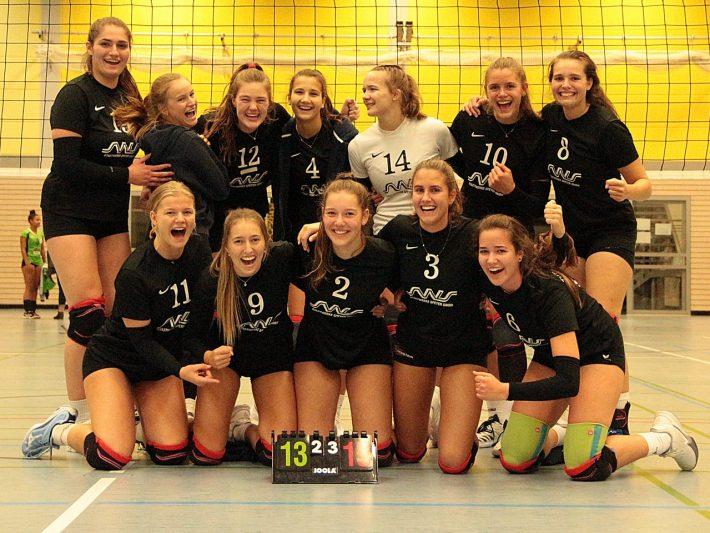 Volleyball – D1 – Dritter Sieg im vierten Spiel –  3:2 gegen VSC Spike Guldental