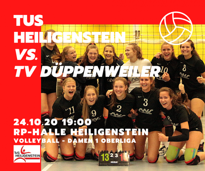 Volleyball D1 gegen TV Düppenweiler live auf Twitch