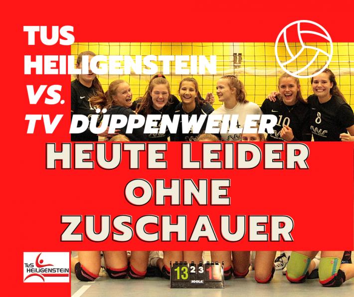 Volleyball – Damen 1 Spiel gegen TV Düppenweiler  OHNE ZUSCHAUER